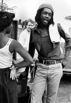 *Peter Tosh* Downtown, Kingston, Jamaica, 1978. More fantastic pictures and videos of *The Wailers* on: https://de.pinterest.com/ReggaeHeart/ ©Adrian Boot/ urbanimage.tv