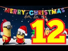 """The Minions sing """"12 Days of Christmas"""""""
