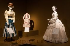 A Century of Cotton: Selections from the Helen Larson Historic Fashion Collection, 1800-1900. FIDM Museum at the Fashion Institute of Design & Merchandising, Los Angeles. Loan courtesy of Jane Gincig & Pat Kalayjian. Photograph by Brian Sanderson. Copyright of FIDM