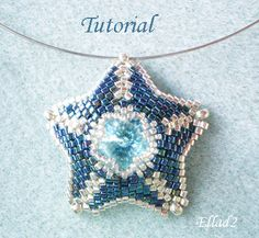 Tutorial Silver Blue Star Pendant
