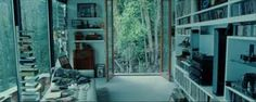 So I had a dream that we had a bedroom like this, BEFORE we even saw Twilight. Dream bedroom in the woods Twilight Edward, Cullen House Twilight, Twilight Movie, Twilight Pictures, Edward Cullen, Antibes, Deco Studio, Interior And Exterior, Interior Design