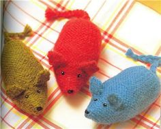 Knitted Toys Pattern Book