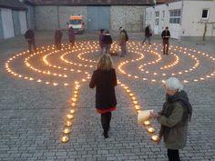 great labyrinth idea.