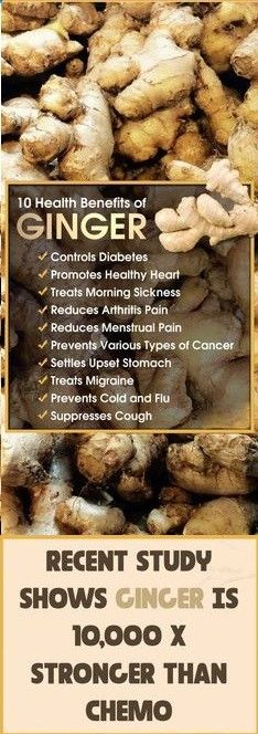 9 Amazing Things That Will Happen When You Eat Fresh Ginger Every Day For 1 Month #Ginger #Health #Healtytips ##Healthylife #Healthyfood
