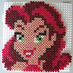 Tinker Bell Disney Fairies Rosetta hama perler beads - Les loisirs de Pat
