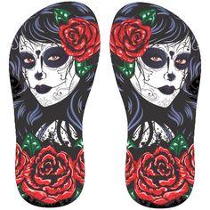 Estampa para chinelo Caveiras 001514 Beer Fridge, Rubber Rain Boots, Skull, Sandals, Pattern, Leo, Times, Mens Designer Flip Flops, Digital Art