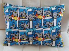 Blue Batman Pillow
