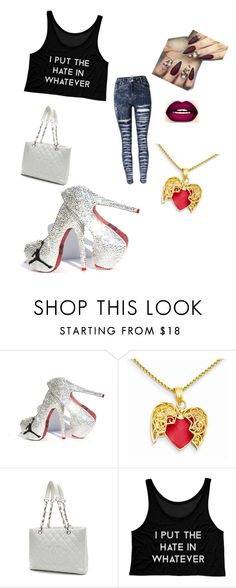 """Cuz I Slay"" by miragetright ❤ liked on Polyvore featuring Chanel, Beyonce and slay"