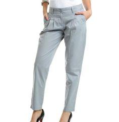 calça social feminina cinza