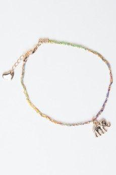 Elephant Braided Chain Bracelet