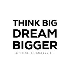 Always have dreams just a few sizes too big. You'll grow into the person who you need to be to achieve them.  @peterjbone  #achievetheimpossible by achievetheimpossible