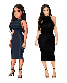 There is a brand new Kim character and looks in the Kim Kardashian: Hollywood game  (v6.0)