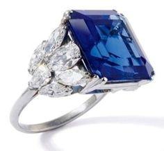 Bulgari Sapphire and Diamond Ring by Dittekarina