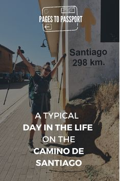 An hour-by-hour view of a typical day in the life on the Camino de Santiago. Realistic information for those considering walking the Camino de Santiago. Camino Way, Camino Trail, The Camino, Thru Hiking, Hiking Tips, El Camino Pilgrimage, Camino Portuguese, Colorado Hiking, Spain Travel