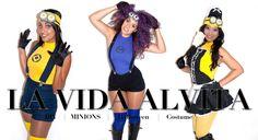 DIY Ladies Minion Costume Video- Despicable Me