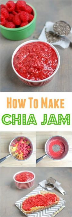 Summer is the perfect time to learn how to make chia jam. Use up your favorite fruits before they go bad and turn them into a low-sugar jam that's great for breakfast, lunch and snack time!