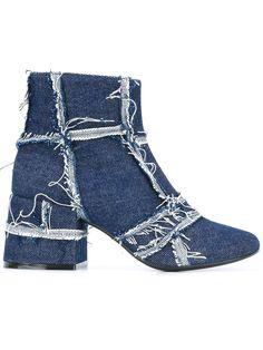 Mm6 Maison Margiela denim ankle boots