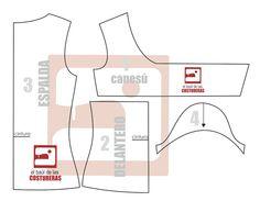 Blusa con nudo en canesú | EL BAÚL DE LAS COSTURERAS Couture, T Shirt Diy, Sewing, Crochet, Shirts, Japanese Style, Jr, Patterns, Create