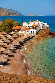 Vlychos Village, Hydra, Greece : #greece #travel #tour #trip #vacation #holiday #adventure #place #destinations #outdoors