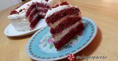Ο/η amande μαγείρεψε Red Velvet Κέικ (Κέικ Κόκκινο Βελούδο) του/της foodie1973