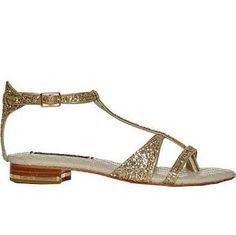 Alice + Olivia Nola Women's Flat Shoes Pale Gold