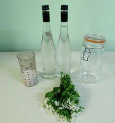 La recette de la liqueur d'aspérule odorante - waldmeister - waldi - woodruff liqueur
