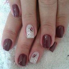 Sangre Toro Uñas Pinterest Nails Short Nails Y Nail Art