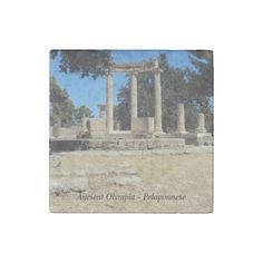 Ancient Olympia - Peloponnese Stone Magnet