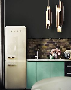 10 times a Smeg fridge took a kitchen from ordinary to extraordinary - Homes To Love
