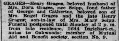 Free Genealogy Search, Son In Law, Funeral