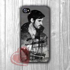 Captain Hook Ship - zzd for iPhone 4/4S/5/5S/5C/6/ 6+,samsung S3/S4/S5,samsung note 3/4
