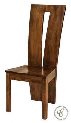 The skill of Amish woodworkers shape and sculpt the exciting Delphi Dining Chairs for your modern dining room furniture collection. Contemporary Dining Chairs, Modern Chairs, Contemporary Furniture, Dining Room Chairs, Dining Room Furniture, Side Chairs, Office Chairs, Lounge Chairs, Side Tables
