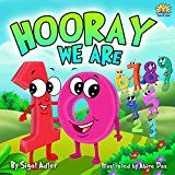 """Free Kindle Book -   Children's picture books :""""HOORAY WE'RE 10"""" :Bedtime story(Beginner readers)values(Funny)poetry, basic concepts Toddler series,Early learning(Preschool/ ... (Toddlers ebooks for bedtime)"""