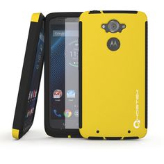 droid-turbo-case-ghostek-blitz-yellow-motorola-droid-turbo-xt1254-case-w-attached-droid-turbo-screen-protector-lifetime-warranty-rubberized-fitted-smooth-non-slip-grip-rubbery-soft-touch-matte-cover-case-for-motorola-droid-turbo-ghocas236
