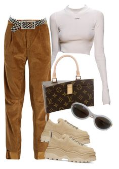 """🚬"" by styledbyni ❤ liked on Polyvore featuring Vetements, Eytys, Kenneth Jay Lane and JC de Castelbajac"