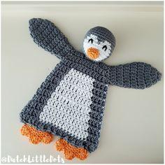dutch little dots dutchlittledots irene haakt irenehaakt pinguïn lappenpop penguin ragdoll crochet gehaakte gehaakt handmade alasascha lappenpoppen haken