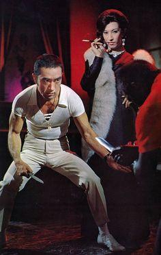 Yukio Mishima and Akihiro Miwa in Black Lizard(Kuro Tokage) / 1968 / dir. Japanese Film, Vintage Japanese, Japanese History, Human Poses Reference, Tough Guy, National Treasure, Urban Life, Gay Art, Short Film
