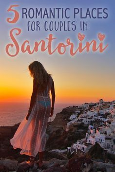 Santorini is essentially a honeymoon island that emanates romance regardless where you are. Having explored the whole of the island, we thought we would share our favorite spots with y'all.