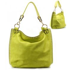 Golden Hardware Strap Purse and Bag / Handbag / Green / Rchd0081grn by MON REVE JEWELRY. $40.99. GOLDEN HARDWARE / ZIP TOP CLOSURE. PURSE AND BAG / HANDBAG. H 14 1/2 INCH X W 16 INCH X D 7 INCH. STRAP 9 INCH. PURSE AND BAG / HANDBAG / POLYURETHANE / GOLDEN HARDWARE / ZIP TOP CLOSURE / BACK ZIP POCKET / INSIDE TWO ZIP AND TWO OPEN POCKETS / STRAP 9 INCH / H 14 1/2 INCH X W 16 INCH X D 7 INCH. Save 25%!