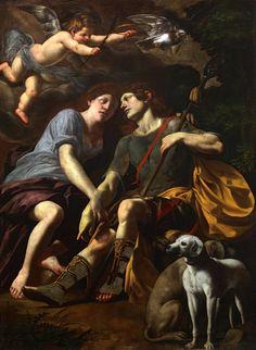 Giovanni Battista Caracciolo (Il Battistello), Venus and Adonis, 1630