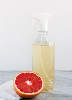 All Natural Solutions for Spring Cleaning Green Cleaning, Cleaning Tips, Cleaning Recipes, Spring Cleaning, Cleaning Solutions, Cleaning Supplies, Grapefruit Vinegar, Cleaners Homemade, Diy Cleaners