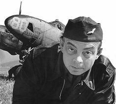 Antoine De Saint Exupery, a great French writer and pilot.  Died during one of the flights during the war.