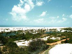 Vista da Praia de Águas Belas em Cascavel-CEARÁ, BRASIL Foto: Divulgação | Flickr