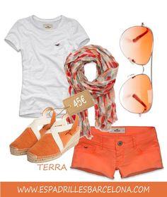 Alpargata TERRA de TONI PONS, comodidad y divertidos colores para este verano!