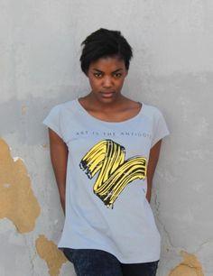 'Art Is The Antidote' tshirt from @Matty Chuah Vintees T-Shirts Co. - £29.47 #RunwayRepublic