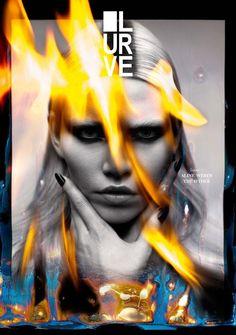 Aline Weber by Tetsu Kubota    Lurve Magazine    S/S 2013
