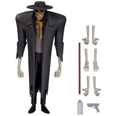 Scarecrow 6 Inch Action Figure - Batman Animated Series - DC Comics