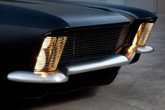 Vintage Cars Flat Black 1963 Buick Riviera Customized by Fesler Just Exudes Menace - Carscoops - It's really hard to innovate in the world of modified muscle cars,… Bmw, Supercars, Corvette, Camaro Ss, Bugatti, 1965 Buick Riviera, Automobile, Buick Cars, Us Cars