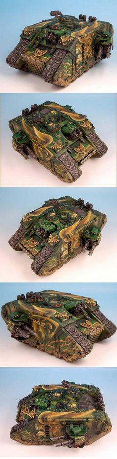 WARHAMMER 40K  Dark Angels Land Raider