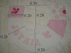 ARTESANATO COM QUIANE - Paps,Moldes,E.V.A,Feltro,Costuras,Fofuchas 3D: Enxoval de Bebê: Molde almofada de amamentação